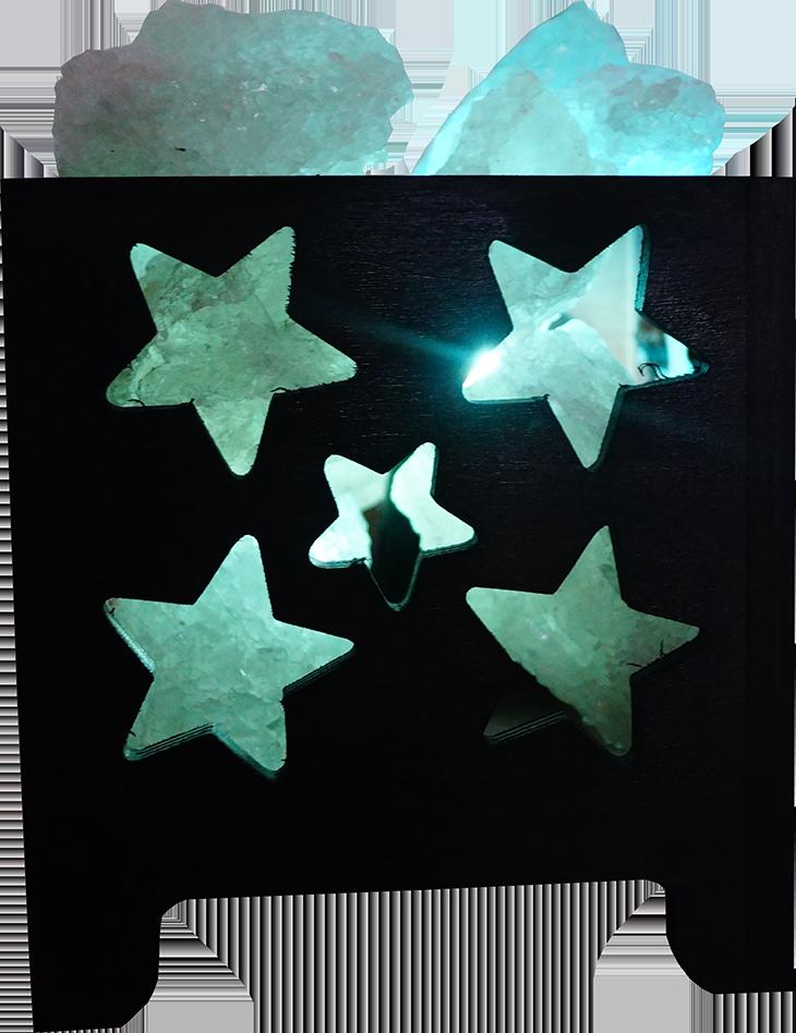 Соляная лампа Корзина № 5, 1,5 кг, (12*12*13 см)