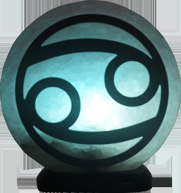 Соляная лампа Рак, 3-4 кг, (16*16*7см)