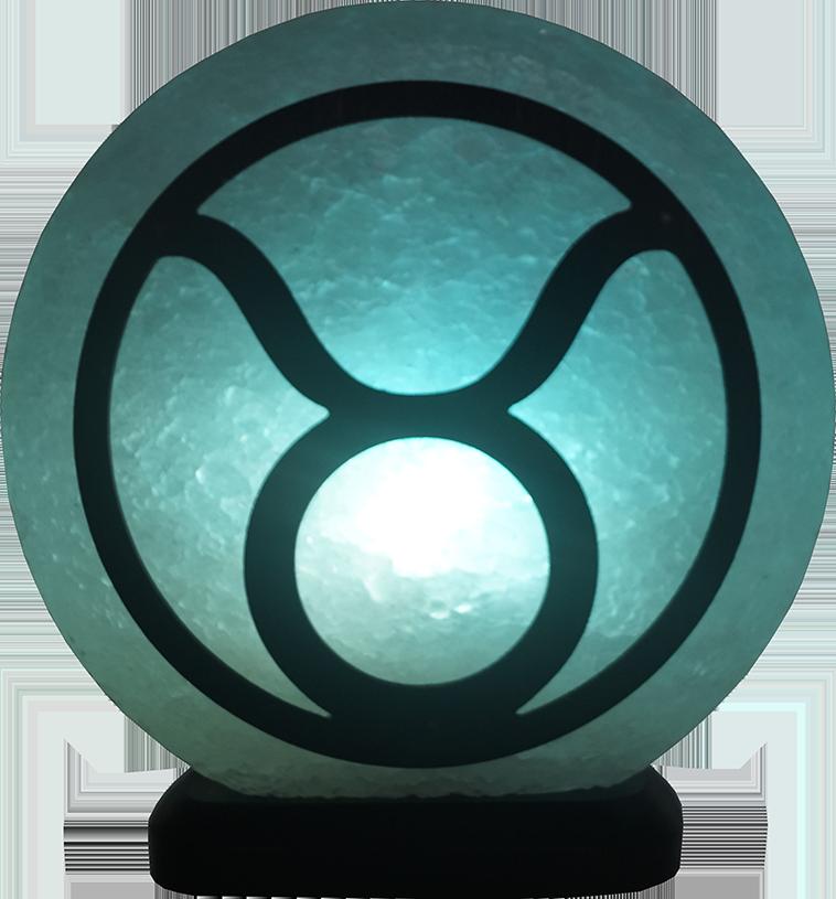 Соляная лампа Телец, 3-4 кг, (16*16*7см)