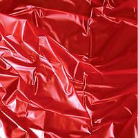 Красная латексная простынь Sheet in Latex SexMax WetGames 180X220