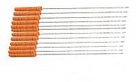 Мини шампура с деревянной ручкой