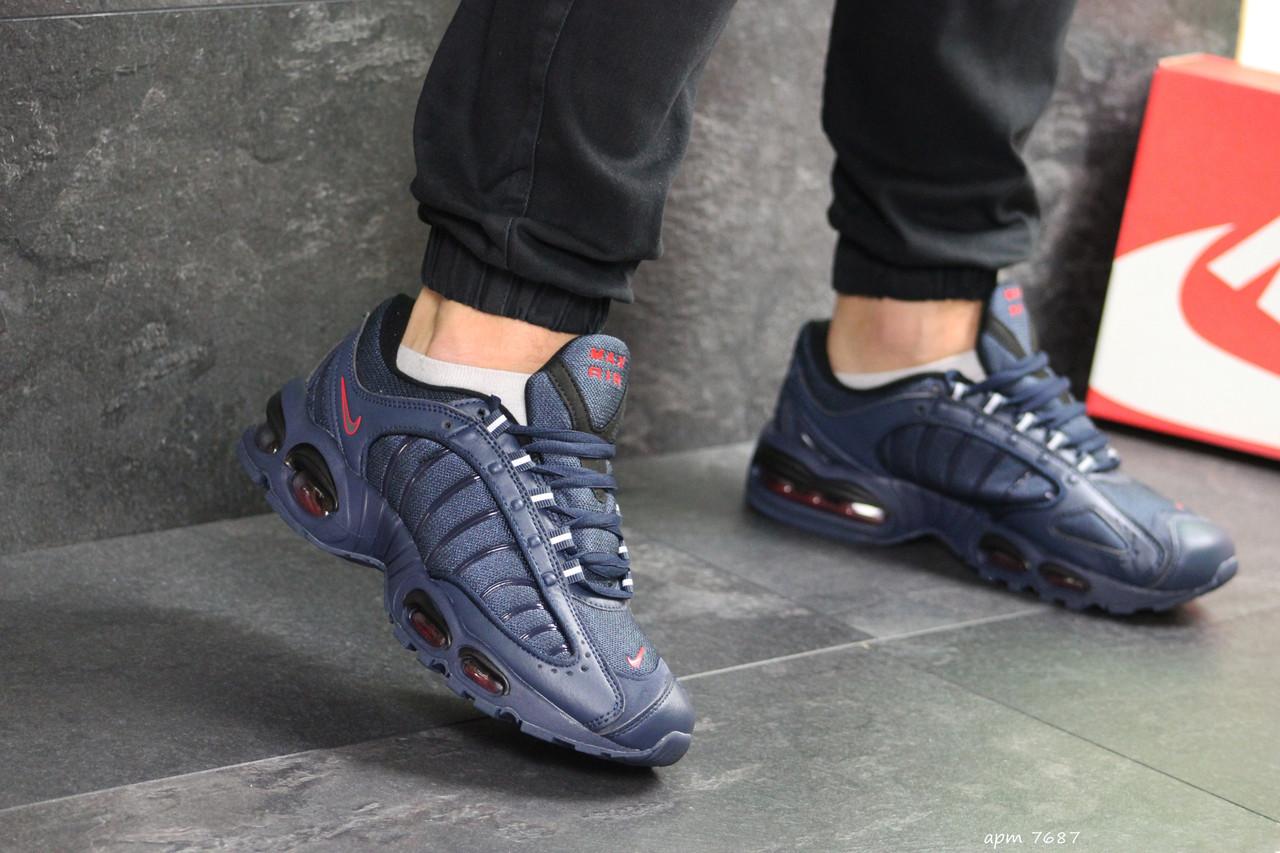 3889a55e Мужские кроссовки в стиле Nike Air Max, сетка, кожа, пена, силиконовые  подушки