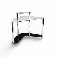 Стеклянный компьютерный стол Софт