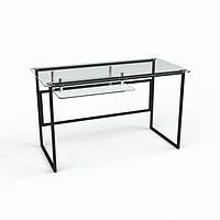 Стеклянный компьютерный стол Твинс