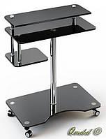 Стеклянный компьютерный стол P-1