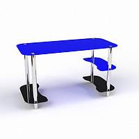 Стеклянный компьютерный стол Антей