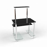 Стеклянный компьютерный стол Дельта