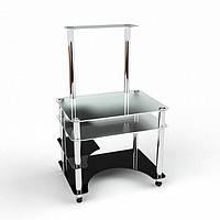 Стеклянный компьютерный стол Кондор