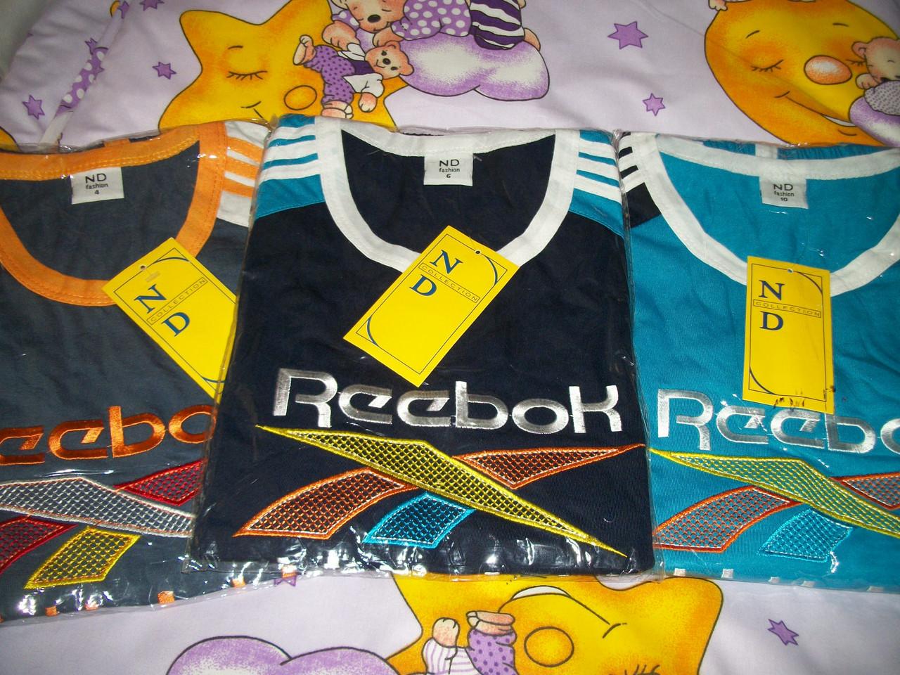 Костюм  летний для мальчика Reebok 4-11 лет . Цвета в ассортименте