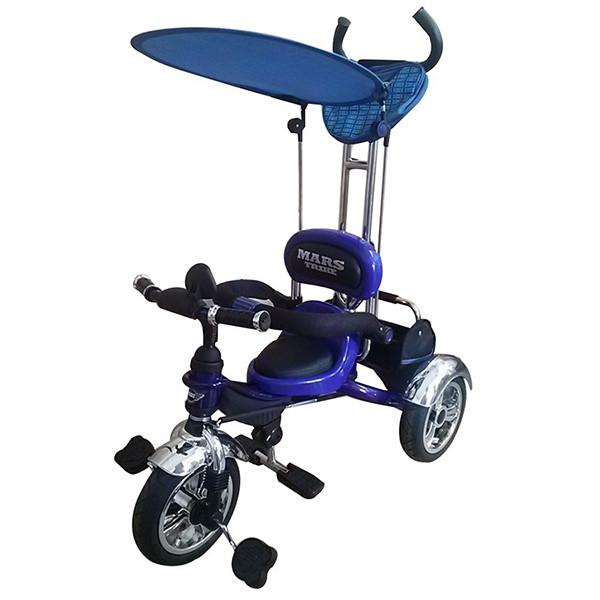 Трехколесный велосипед на надувных колесах Mars Trike Синий KR01