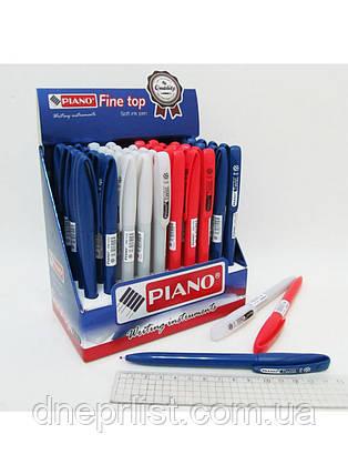 """Ручка маслянная поворотка PIANO """"Twist"""", синяя (PB-1151), фото 2"""