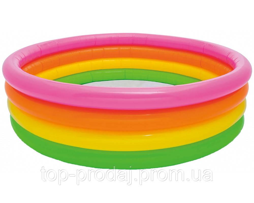56441 Бассейн детский 168*46см, Бассейн для детей, Летний надувной бассейн, Наливной бассейн