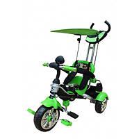 Велосипед трехколесный Mars Trike на надувных колесах KR01 air салатовый