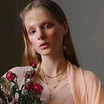 Нежное ослепительное асимметричное Сердце Серьги с серебристым серебром Серьги на Женское - 1TopShop, фото 3