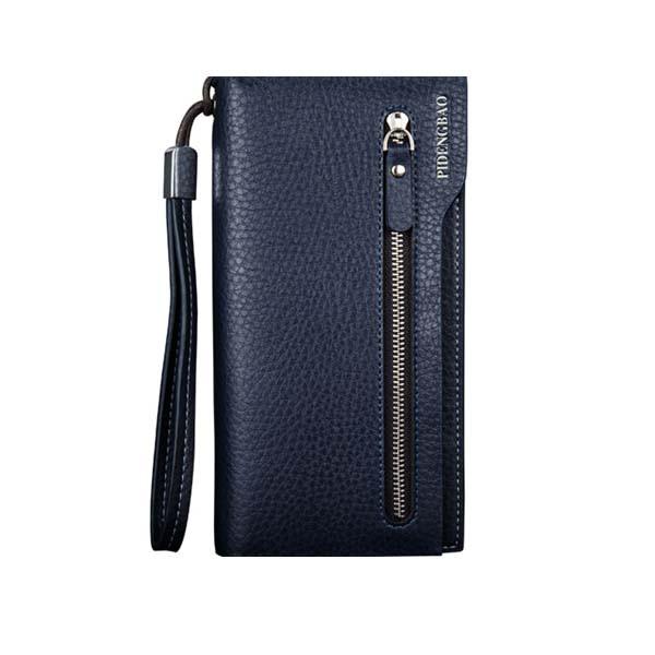 Pidengbao выпускают под брендом искусственную кожу длинный держатель карты сумочки кошелька бумажника с застежкой-молнией - 1TopShop