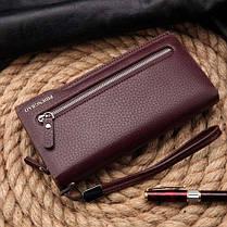 Pidengbao выпускают под брендом искусственную кожу длинный держатель карты сумочки кошелька бумажника с застежкой-молнией - 1TopShop, фото 3