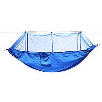 На открытом воздухе Портативный 2 человека двойной гамак Кемпинг Палатка висит качели кровать с москитной сеткой - 1TopShop, фото 3
