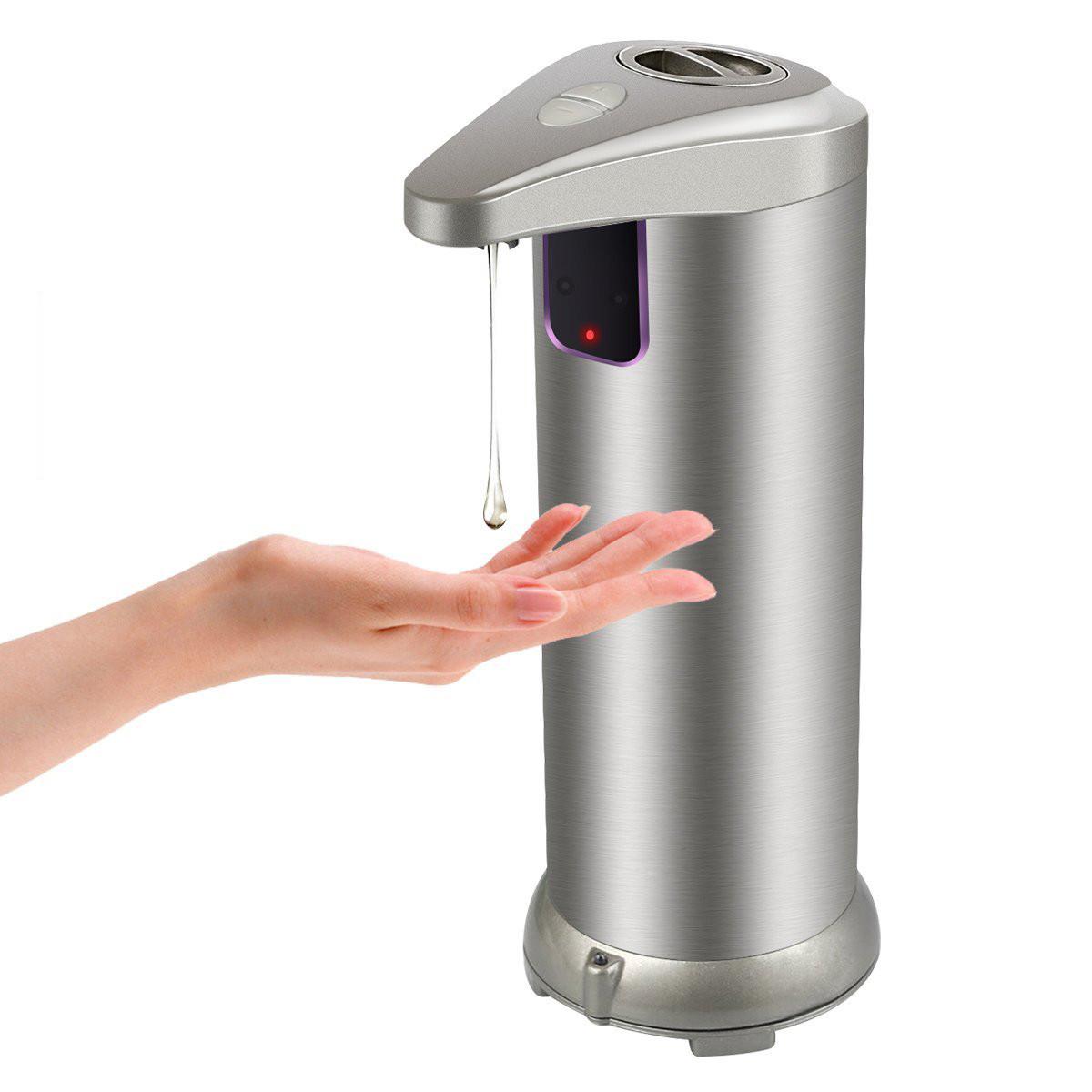 SanitizerВтороепоколениеМодернизированнаяверсияБесконтактный автоматический Дозатор для жидкого мыла Диспенсер мыла - 1TopShop