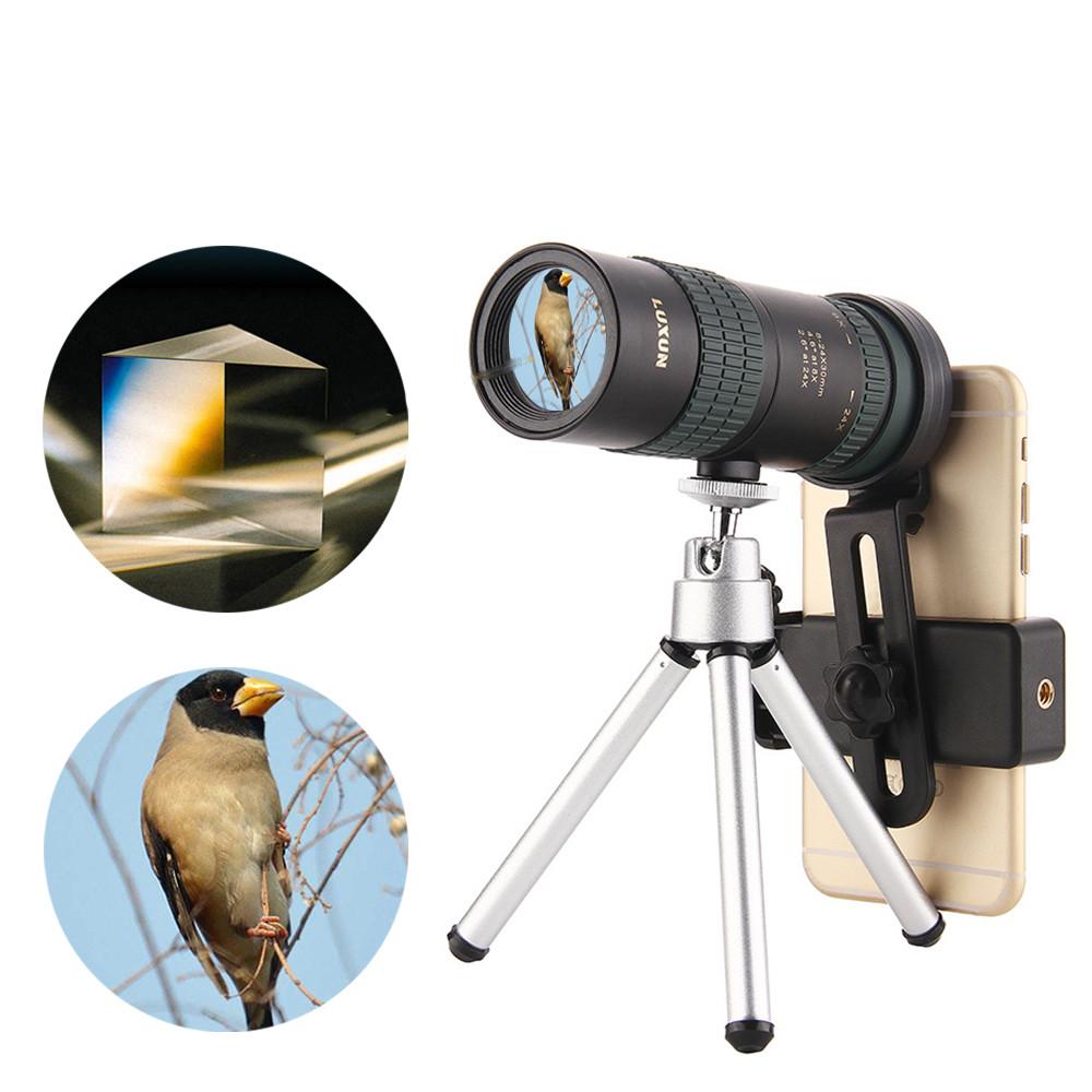 8-24x30ZoomМонокулярBAK4OpticОбъектив Телескоп для На открытом воздухе Travel Phone Shooting - 1TopShop