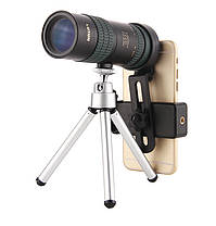 8-24x30ZoomМонокулярBAK4OpticОбъектив Телескоп для На открытом воздухе Travel Phone Shooting - 1TopShop, фото 2