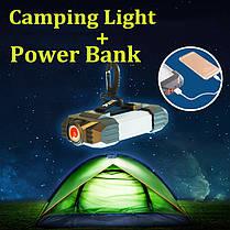 IPX5 водонепроницаемый фонарь палатка campig 21 СИД свет 5400mAh питания перезаряжаемые аварийной лампы - 1TopShop, фото 2