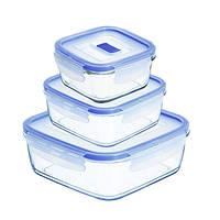 Набор контейнеров Luminarc Pure Box Active 3пр. (H7685)