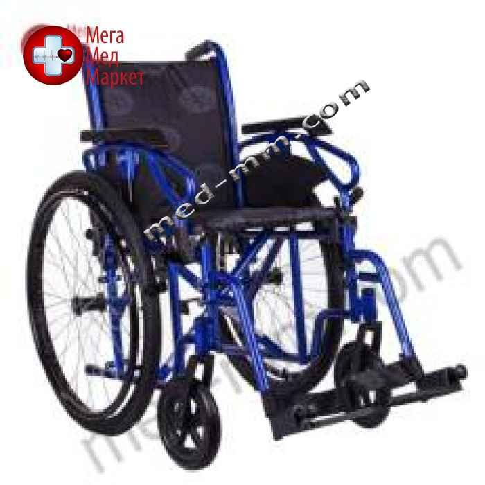 Коляска инвалидная MILLENIUM III синяя