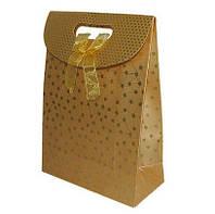 """Подарочный пакет """"Золотая осень"""" 26*19*9"""