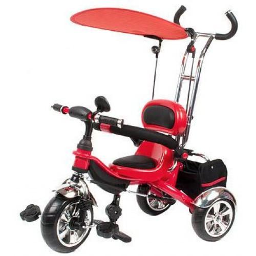Велосипед трехколесный Mars Trike на надувных колесах KR01 air красный
