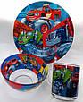 Посуда детская BLAZE подарочный набор 3ка купить оптом со склада 7км Одесса, фото 2