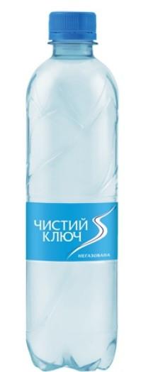 Вода Чистый ключ 0,5 негазированная 0,5 л