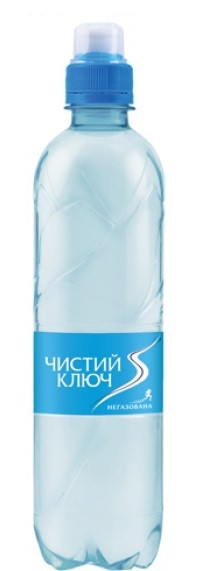 Вода Чистый ключ Спорт 0,5 л