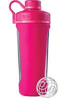 Спортивная бутылка-шейкер BlenderBottle Radian Glass Pink, скло, 820мл, Original - 144893