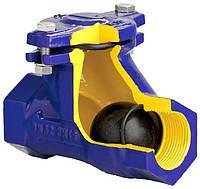 Клапан обратный шаровый для канализационных стоков (вязких и загрязненных жидкостей), Ду40