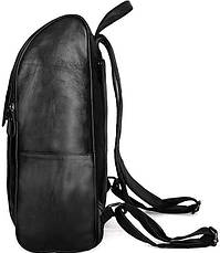 Рюкзак Vintage 14523 кожаный Черный, Черный, фото 3