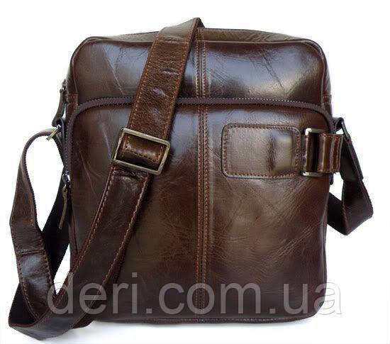 Сумка мужская Vintage 14095 Коричневая, Коричневый