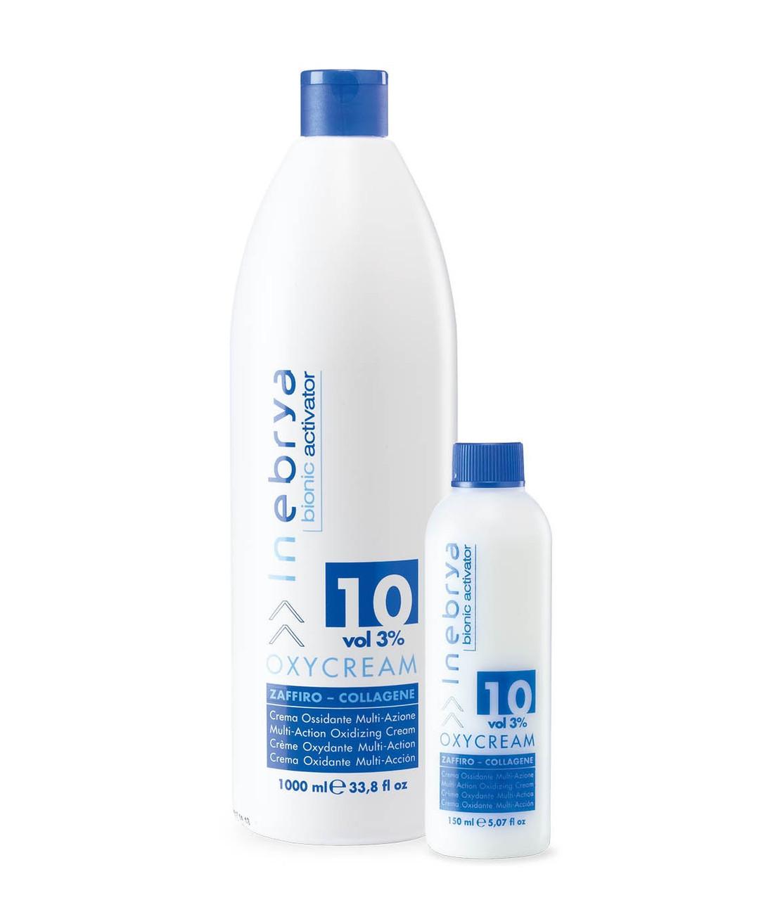 "Крем-окислитель Сапфир-коллаген"" 10, 3%, Inebrya Bionic, 1000ml"