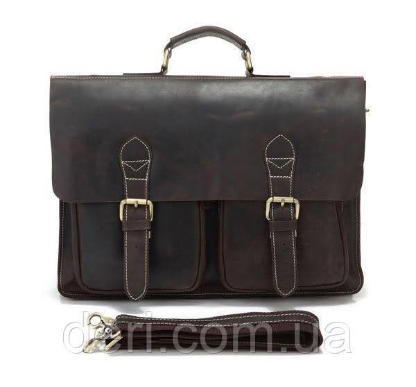 Портфель Vintage 14086 Коричневый, Коричневый