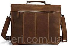 Портфель Vintage 14100 Коричневый, Коричневый, фото 3