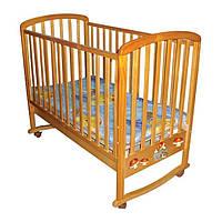 Кровать деревянная F-09