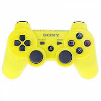 Беспроводной Джойстик Sony Геймпад PS3 для Sony PlayStation PS Жёлтый