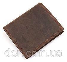 Кошелек мужской Vintage винтажный стиль коричневый, фото 2