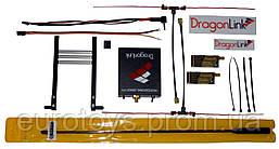 Комплект LRS Dragon Link V2 UHF 433MHz 500mW 12 каналов - 2 приемника ант. 30см