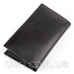 Портмоне мужское KARYA 17016 Черное, Черный, фото 2
