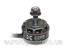 Двигун HOBBYWING XRotor 2205 TITANIUM 2300KV CW 1.25 kg+ для мультикоптеров