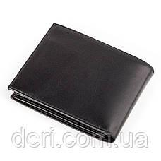 Кошелек мужской CANPELLINI 17038 кожаный Черный, Черный, фото 2