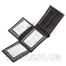 Кошелек мужской CANPELLINI 17038 кожаный Черный, Черный, фото 3