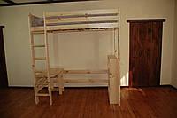 Кровать детская из дерева Ягненок L, фото 1