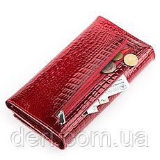 Кошелек женский BODENFENDY 13850 кожаный Красный, Красный, фото 3