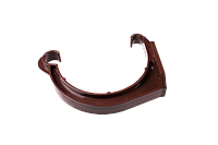 Держатель желоба 130 ПВХ Profil, Крепление для водосточной системы, Крюки для крепления водосточного желоба
